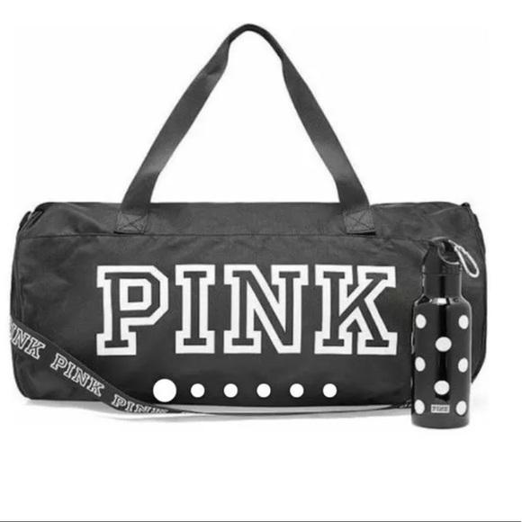 PINK Victoria s Secret Bags   Vs Pink Duffle 2018 Gym Bag Water ... a0e37b5b5f